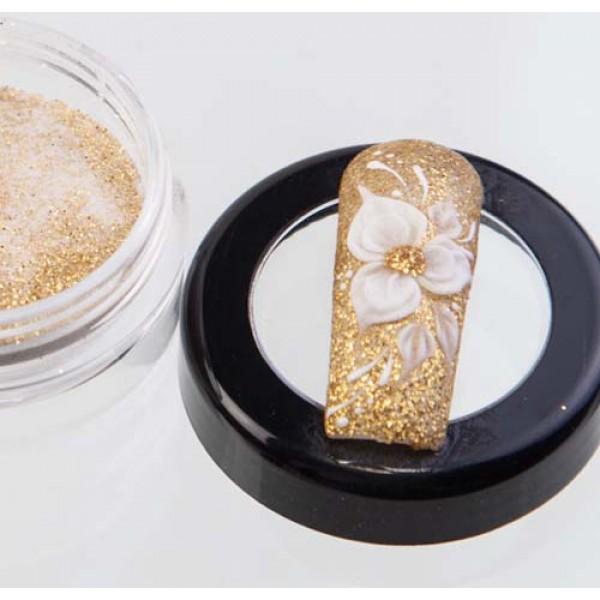 Akrüülpulber Glitter Gold 3g