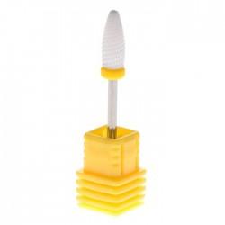 Keraamiline koonus kollane